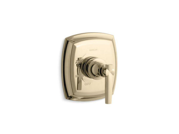 Kohler TS16235-4-AF Margaux Rite-Temp valve trim with lever handle-Handle Trim-HomePlumbing