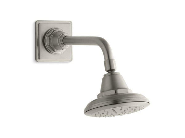 Kohler 45417-G-BN Pinstripe® 1.75 gpm single-function showerhead with Katalyst air-induction technology-Showerheads-HomePlumbing
