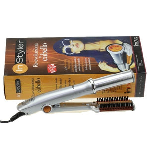 IRON ROTATION HAIR CURLER AND STYLER