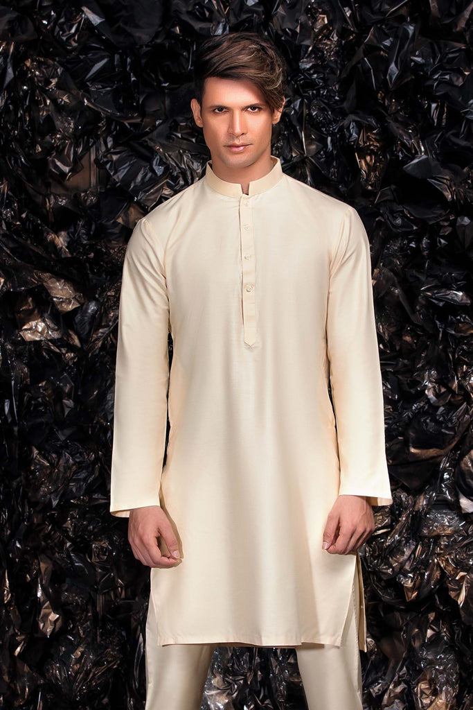 Gold Kurta with Trouser Bollywood Indian Suit