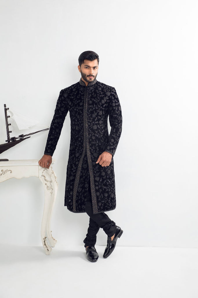 Black Light Maharaja Sherwani