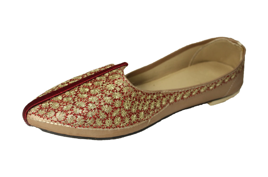 Balangir- Plum Mojri Khussa Shoes - Sherwani King - - 1