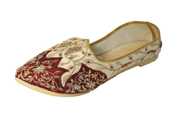 Manawar- Red Mojri Khussa Shoes - Sherwani King - - 1