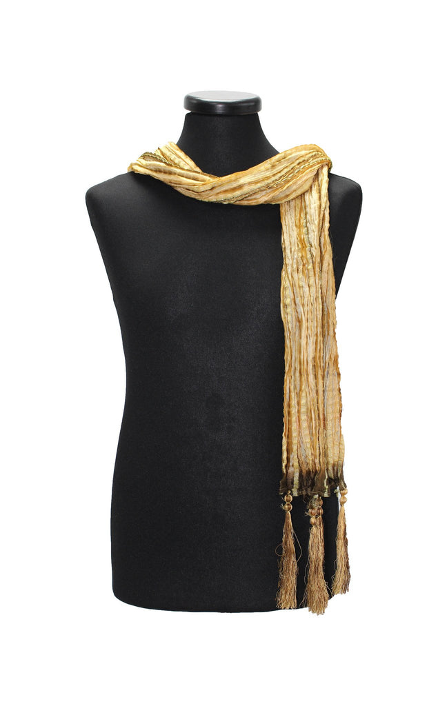 Gold and Copper Sherwani Scarf 25
