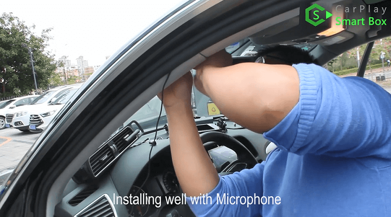 10.Installing well with microphone.