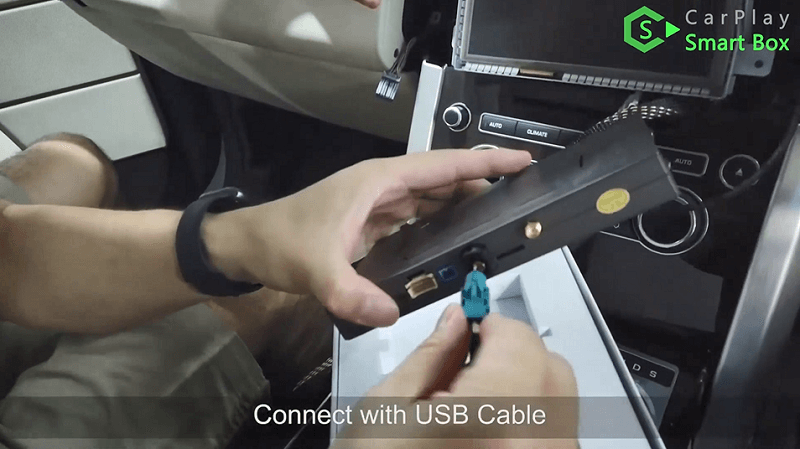 11.Connect with USB cable.