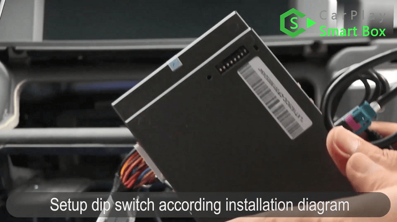 13.Set up switch according installation diagram.