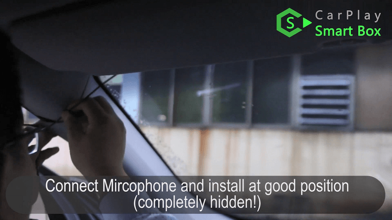 15.Connect Microphone and install at good position.
