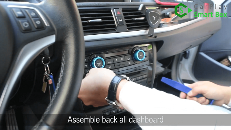 16.Assemble back all dashboard.