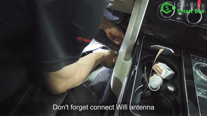 19.Don't forget connect Wifi antenna.