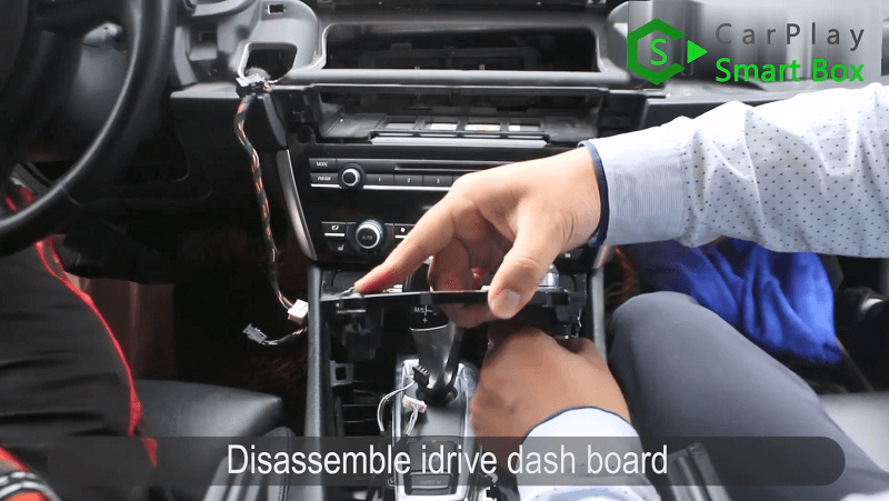 2.Disassemble iDrive dash board.