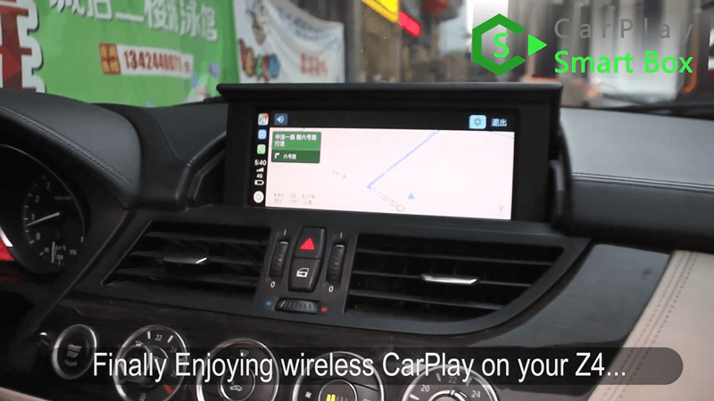 21.Finally enjoying wireless CarPlay on your Z4.
