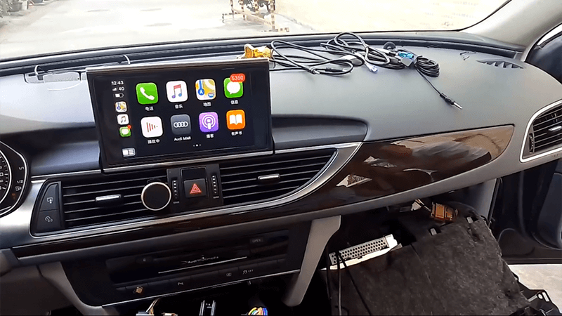 4.Test Wireless Apple Carplay Smart Box Installation Tutorial