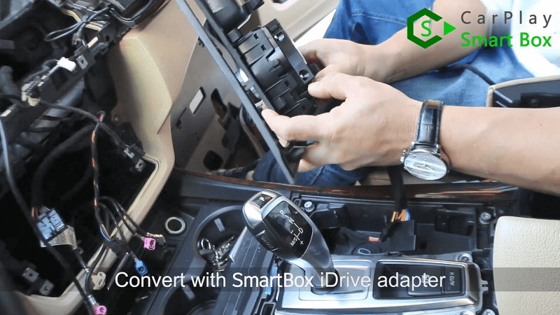 5.Convert with Smart Box iDrive adapter.