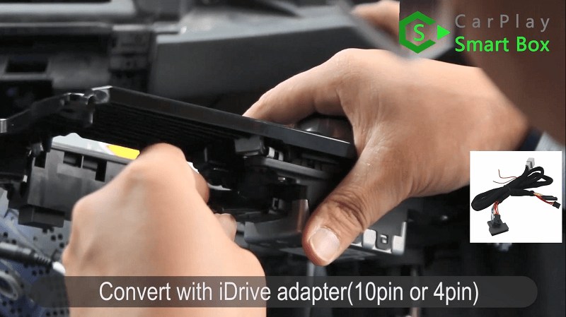 5.Convert with iDrive adapter.