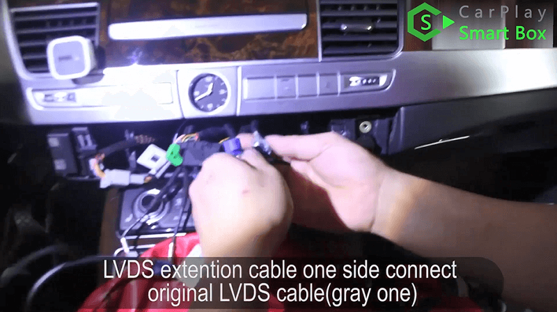9.LVDS extention cable one side connect original LVDS cable(grey one).