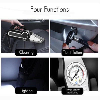 4-in-1 Auto Car Vaccum Cleaner Dust Collector