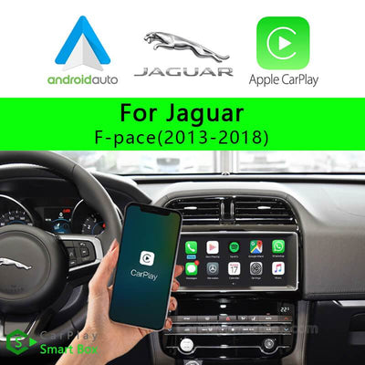 Jaguar CSBLR-1 F-pace(2013-2018)-Wireless Apple CarPlay Android Auto Retrofit Upgrade Aftermarket Head Unit Adapter Smart Box