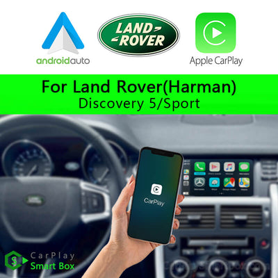 Land Rover CSBLR-1 (Harman) Discovery 5 Discovery Sport-Wireless Apple CarPlay Android Auto Retrofit Upgrade Aftermarket Head Unit Adapter Smart Box