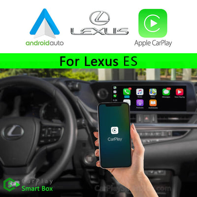 Lexus CSBLX-2 ES(2018-2020) -Wireless Apple CarPlay Android Auto Retrofit Upgrade Aftermarket Head Unit Adapter Smart Box