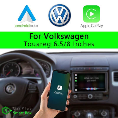 Volkswagen CSBVM-1_2 Touareg 6.5 Inches  8 Inches-Wireless Apple CarPlay Android Auto Retrofit Upgrade Aftermarket Head Unit Adapter Smart Box