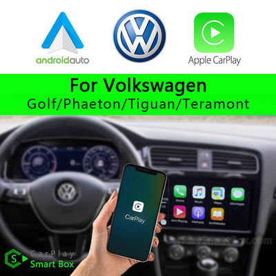 (CSBVW-3) Volkswagen Golf Tiguan Teramont Phaeton 2012-2017 CarPlay Smart Box