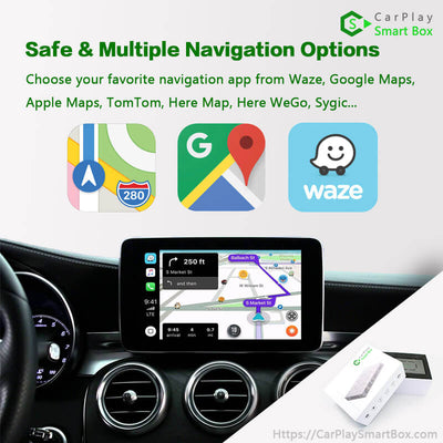 (CSBBM-2) BMW(NBT) 1/ 2/ 3/ 4/ 5/ 7 Series X1/ X3/ X4/ X5/ X6/ Mini Cooper/ i3/i8 | 2012-2017 CarPlay Retrofit Solution