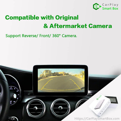 (CSBLR-1) Jaguar(Harman) F-pace 2013-2018 Wireless Apple CarPlay Retrofit Solution