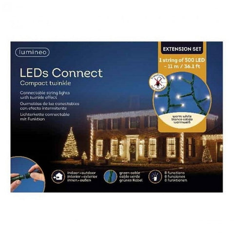 Kerstverlichting LED connect twinkle