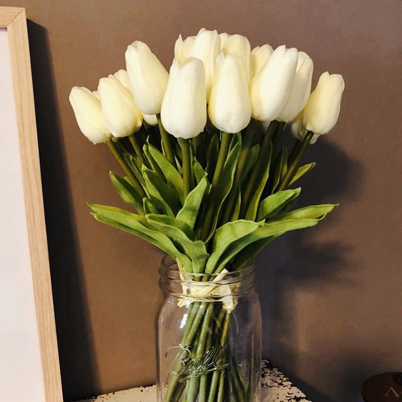 Tulip Artificial Flowers For Wedding Decorations