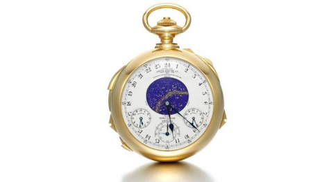 Supercomplication Patek Philippe Henry Graves