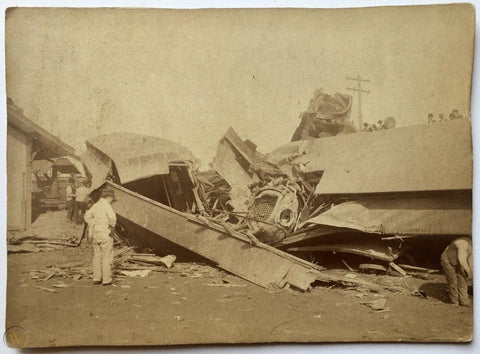 Accident de train Ohio 1884 montre à gousset