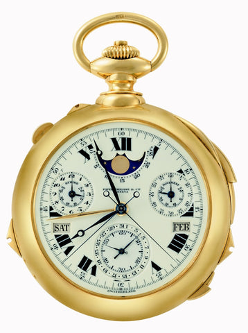 Montre de poche Graves Super Complication N° 198 385 de Patek Philippe
