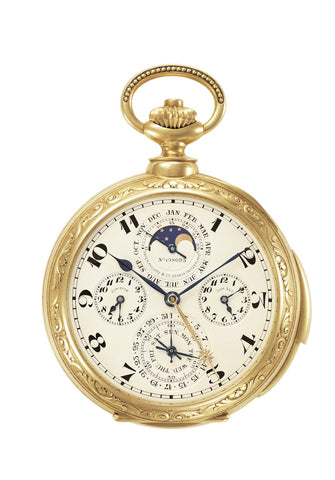 Montre de poche astronomique The Packard N° 198 023 de Patek Philippe