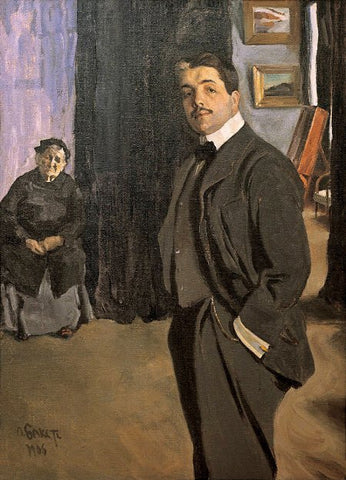 Portrait de Diaghilev