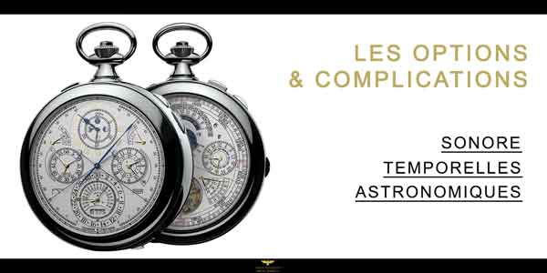 montre à gousset complications