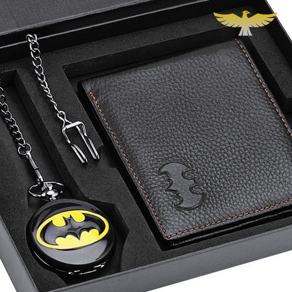 Coffret montre à gousset Batman