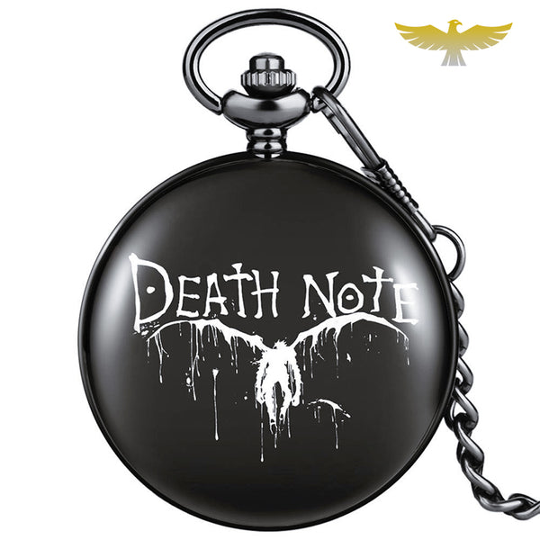 Montre à gousset quartz Death Note