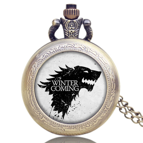 Montre a gousset game of thrones - montre-de-poche-gousset