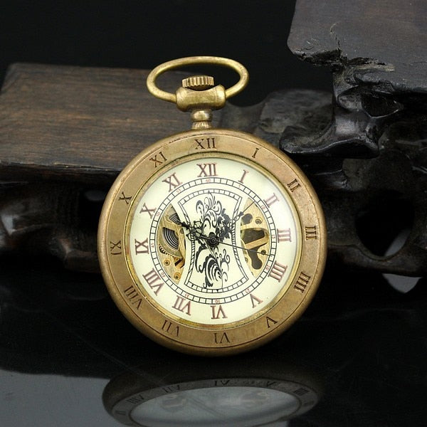 Montre gousset mécanique double index - montre-de-poche-gousset