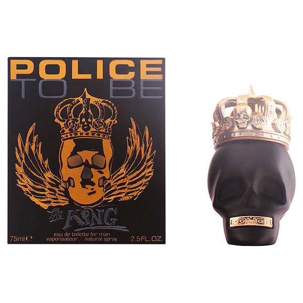 Men's Perfume To Be The King Police EDT