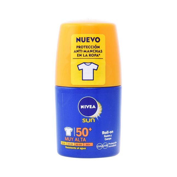 Roll-On Sun Block Spf +50 Nivea 3634