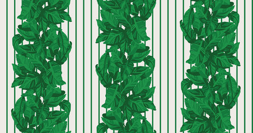 Llewellyn Green Stripe