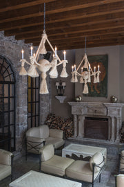 Large Rope Chandelier