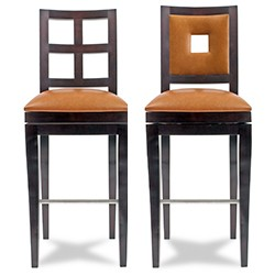 Grid Swivel Bar/Counter Stool