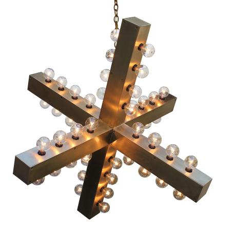 Intersection Chandelier