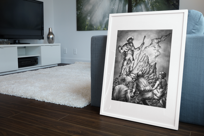 Crater Mutants Gallery Canvas Art Print