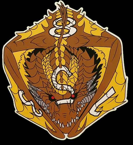 Charxsul the Traitor D8 Dragon Dice Vinyl Sticker