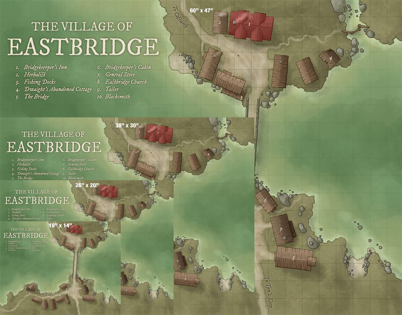 Eastbridge Fantasy Map