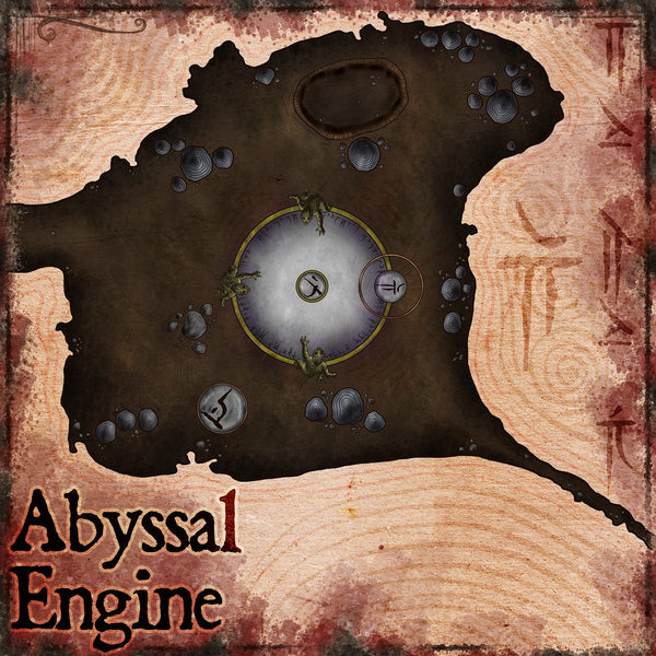 Abyssal Engine Fantasy RPG Map Gallery Canvas Elven Tower